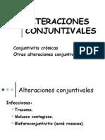 ALTERACIONES CONJUNTIVALES