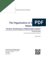 The Organization of American States in Haiti