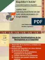 Kaqchikel Neologismos