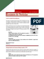 CAP Regional Lima - Resumen de Noticias 17 10 2011