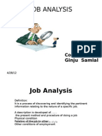 Job Analysis.pptx Kunju