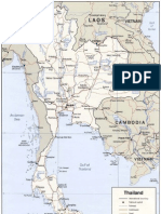 Map of Thailand (Politic)
