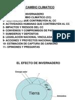 El Cambio Climatico Ing Hugo Sambrana 18