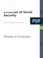 Evolution of Social Security