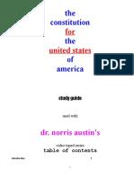 U.S. Constitution Study Book