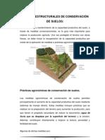 MEDIDAS ESTRUCTURALES DE CONSERVACIÓN DE SUELOS