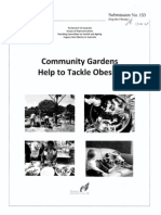 Community Gardens Help to Tackle Obesity