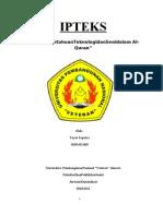 IPTEKS ( Ilmu Pengetahuan Tekhologi dan Seni dalam Islam)