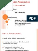 Steganography Final Ppt