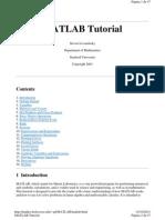 tutorial matlñab