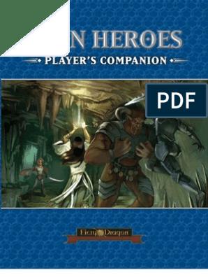 Iron Heroes Players Companion Fatigue Medical Leisure