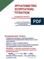 04. PRECIPITATOMETRIC TITRATION