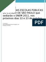 ENEM 2011_locais de Provas