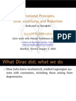 [J.E.Marsden] Variational Principles, Dirac Structures, And Reduction