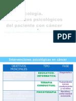 Presentaci+¦n Psicooncolog+¡a