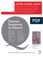 Quiet by Susan Cain - Famous Introverts in History