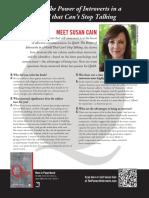 Quiet by Susan Cain - Q&A