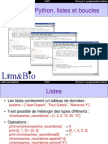 Cours4 Python Boucle