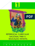 Referencial Curricular - Volume I