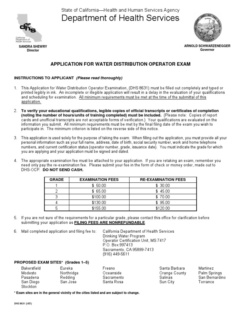 Water distribution state exam application high school diploma water distribution state exam application high school diploma secondary school 1betcityfo Gallery