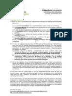 Huella Ecologica Comando Ecologico
