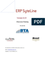 Brochure BTASyteline8TrainingCatalogue