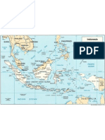 Map of Indonesia (Politic)