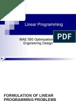 4-Optimization Linear Programming
