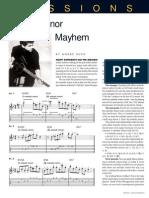 Melodic Minor Mayhem