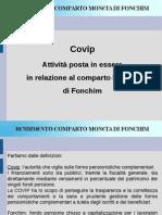 Covip attività relativa al comparto moneta di Fonchim
