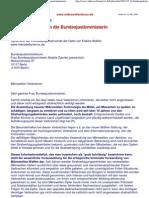 Strahlenfolter - Helene Wagner Teil 2 - Schreiben an Die Bundesjustizministerin