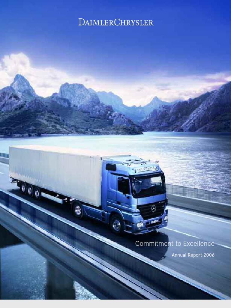Daimlerchrysler Ag December Annual Report Daimler Ag Mercedes Benz