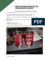 Antenas Caseras de Largo Alcance WIFI