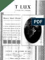 Fiat Lux Octubre 1927