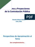 Panorama y Proyecciones de la Contratación Publica Ricardo Salazar Chavez