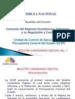 BOLETÍN CIUDADANO DIGITAL
