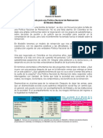 PROCESO DE REINCORPORACION DE AUTODEFENSAS