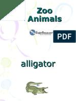 Zoo Animalsilk