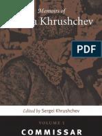 Khruschev - Memoirs