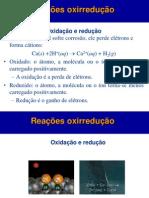 Aula  -       Oxidação e Redução