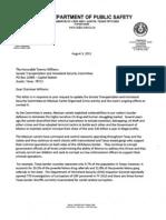 DPS Director Letter August 2011