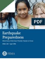 FEMA Earthquake Guide