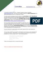 RCAC 2011 Doorprize Letter