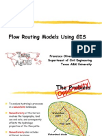Flow Routing Models