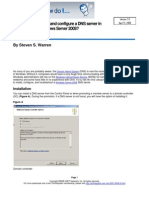 Configure windows server 2008