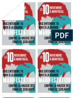 Tract Manifestation nationale 10 novembre