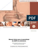 OPS Aiepi en Enfermeria - Cuadros de Procedimientos