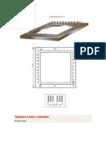 Construcción, urdido, trama básica y otras tramas y puntos