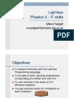 LabView Physics 3 - IT skills