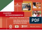 RM364-2008 Aiepi - Cuadro de Procedimientos para Niños de 0 - 2 Meses